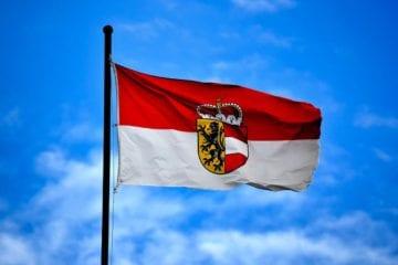 Flagge Salzburg