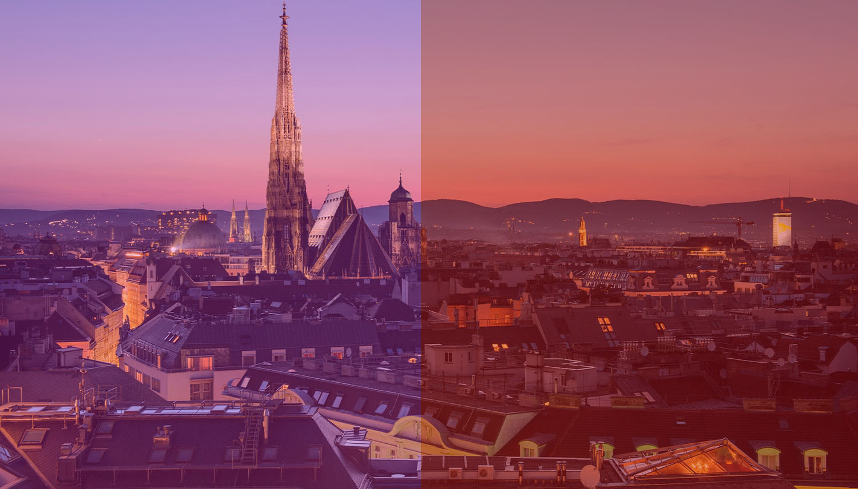 rot pink Klimaschwerpunkte Wien 2